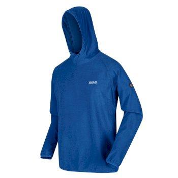 Męska bluza Montes Hoody niebieska