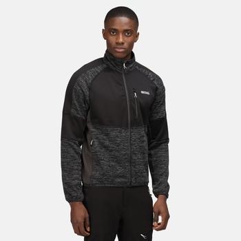 Men's Coladane II Full Zip Fleece Black Ash