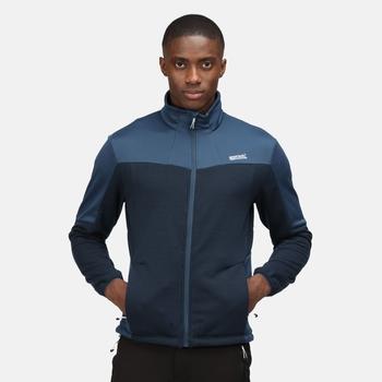 Men's Highton II Full Zip Fleece Moonlight Denim