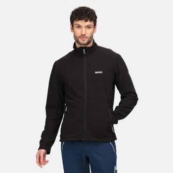 Men's Stanner Full Zip  Fleece Black