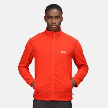 Men's Stanner Full Zip  Fleece Cajun Orange