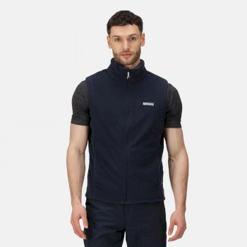 Men's Tobias II Lightweight Fleece Gilet Navy Oxford Blue