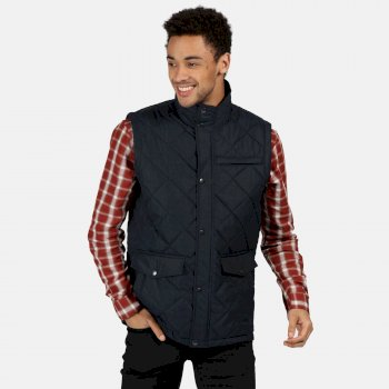 Men's Locke Insulated Diamond Quilted Bodywarmer Navy