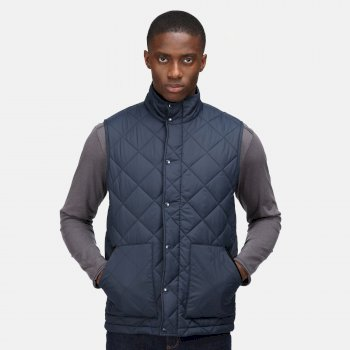 Men's Londyn Quilted Insulated Bodywarmer Navy