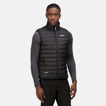 Men's Hillpack Insulated Quilted Bodywarmer Black