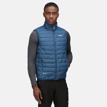 Men's Hillpack Insulated Quilted Bodywarmer Moonlight Denim
