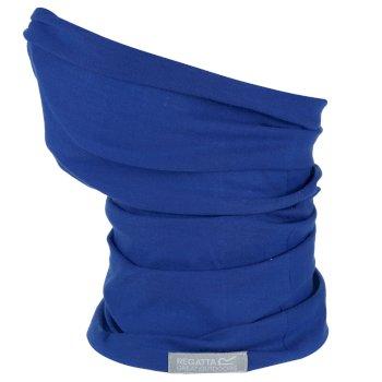 Adults Stretch Multitube Scarf Nautical Blue