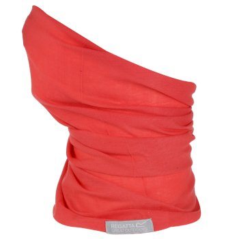Adults Stretch Multitube Scarf Red Sky
