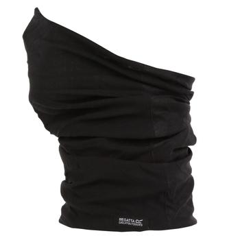 Adults Multitube II Scarf Mask Black