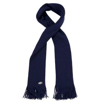 Men's Balton Acrylic Knit Scarf Navy