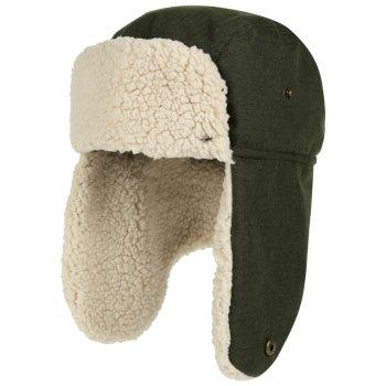 Halian Trapper Waterproof Hat Dark Khaki