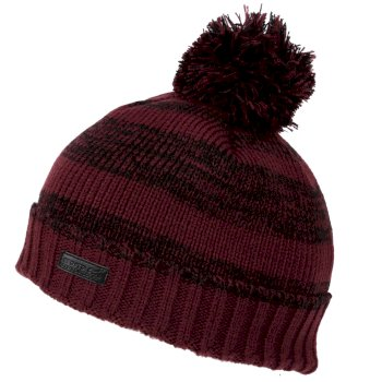 Regatta Men/'s Davion II Fleece Lined Bobble Hat Red