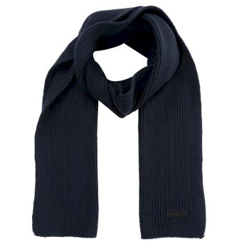 Men's Balton Knitted Scarf Navy