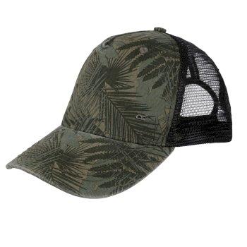 Męska czapka Tassian khaki - czarny