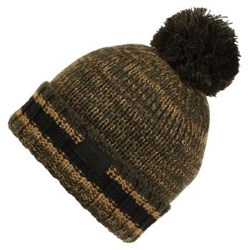 Men's Davion IV Knitted Hat Dark Khaki