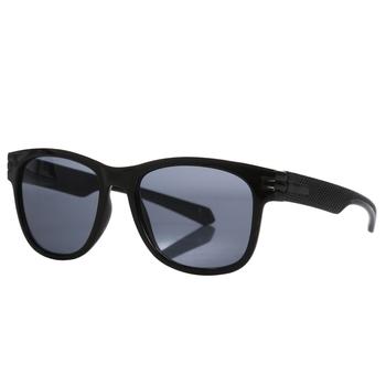 Men's Sargon Oversized Round Sunglasses Black