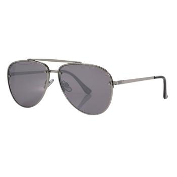 Men's Pontius Aviator Sunglasses Silver