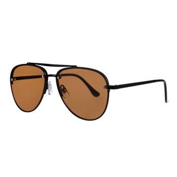 Men's Pontius Aviator Sunglasses Black