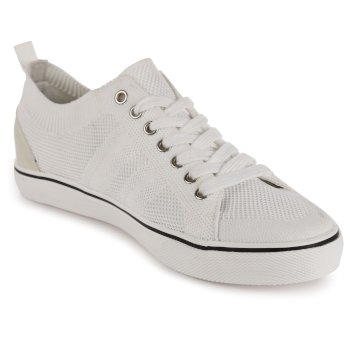 Men's Knitted Shoes White