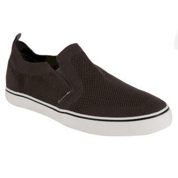 Men's Knitted Slip On Shoes Dark Grey