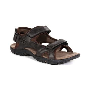 Regatta Mens Samaris Crosstrek Shoes Sandals Brown Red Sports Outdoors