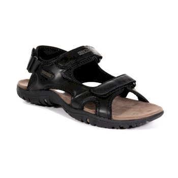 Men's Haris Lightweight Walking Sandals Black