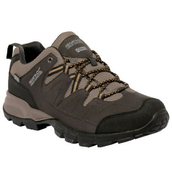 Men's Holcombe Low Walking Shoe Peat Gold