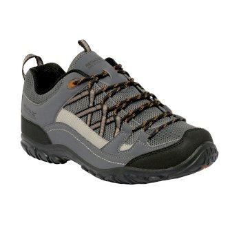 Men's Edgepoint II Low Walking Shoes Granite Gold Cumin