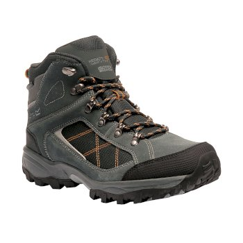 Men's Clydebank Walking Boots Briar Black