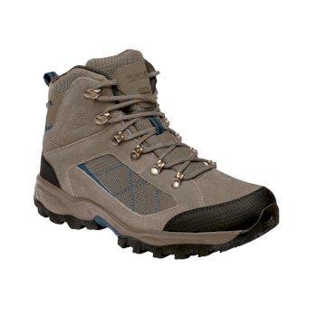 Men's Clydebank Walking Boots Sand Blue Wing