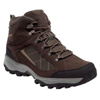 Men's Clydebank Hiking Boots Chestnut Antique Gold