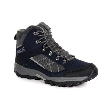 Men's Clydebank Walking Boots Navy Blaze Briar