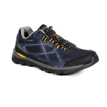 Men's Kota Low Walking Shoes Navy Blazer Zinnia