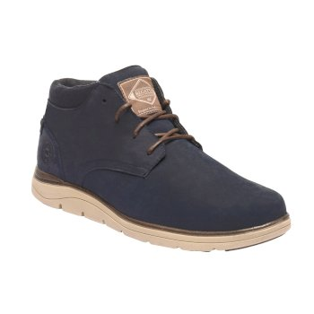 Brockhurst Boots Navy Chocolate