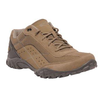Men's Stonegate Low Walking Shoes Dark Camel Briar