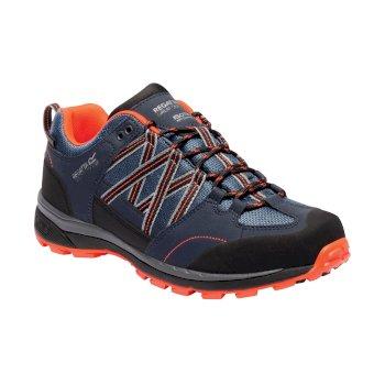 Men's Samaris II Walking Shoes Dark Denim Navy Blaze