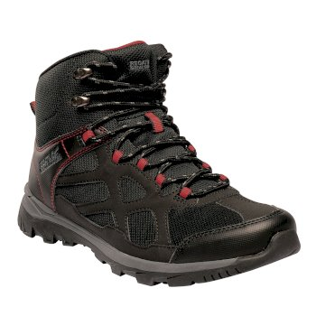 Men's Kota Crux Mid Walking Boots Black Pepper