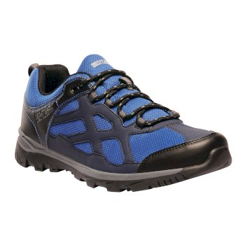 Men's Kota Crux Low Walking Shoes Royal Blue Navy