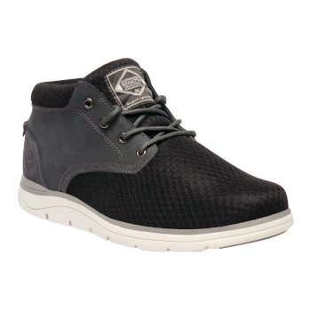 Men's Brockhurst Lite Nubuck Mesh Shoes Black Briar