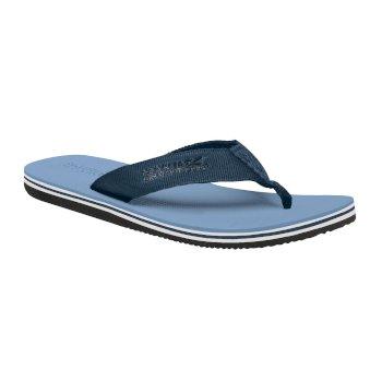 Niebieskie sandały męskie Rico