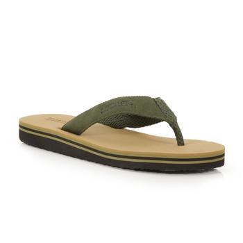Men's Rico Flip Flops Dark Camel Camo