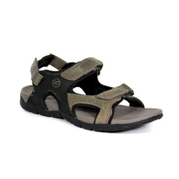Men's Rafta Classic Suede Sandals Treetop Black