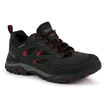 Men's Holcombe IEP Waterproof Walking Shoes Ash Rio Red