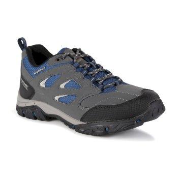 Men's Holcombe IEP Low Walking Shoes Granite Blue Wing