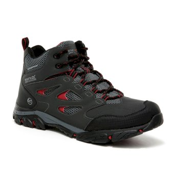 Men's Holcombe IEP Mid Walking Boots Ash Rio Red