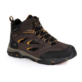 Men's Holcombe IEP Mid Walking Boots Peat Inca Gold