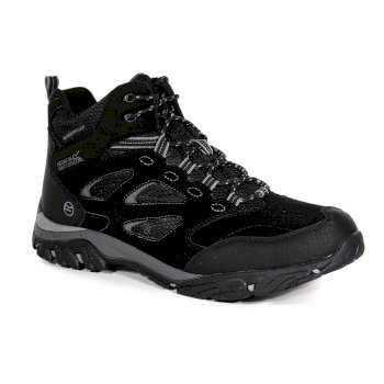 Men's Holcombe IEP Mid Walking Boots Black Granite