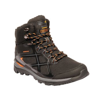 Men's Kota Thermo Mid Walking Boots Black Granite
