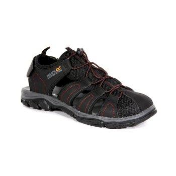 Czarne sandały męskie Westshore II