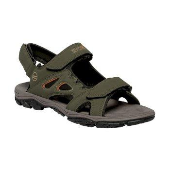 Zielone sandały męskie Holcombe Vent